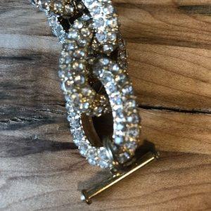 J. Crew Jewelry - Jcrew gold statement link bracelet